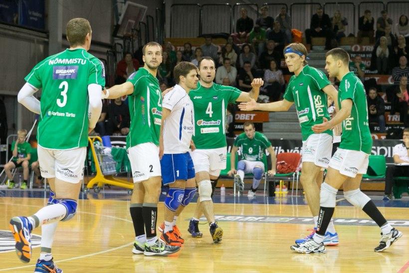 Eesti - Läti võrkpalli ühisliiga finaalturniir on Eesti klubide siseasi