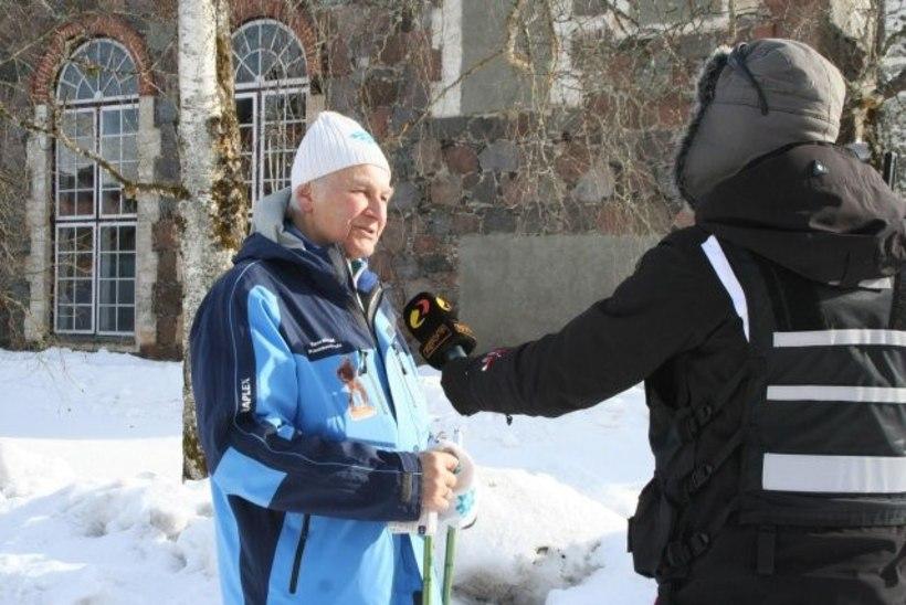"""""""REPORTERI"""" VIDEO: presidendimatk toimus Rüütlita"""