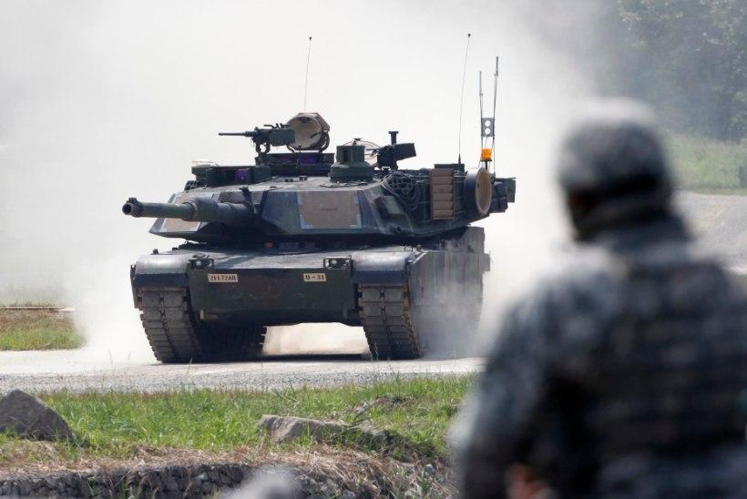 Eestisse saabuvad Ameerika Ühendriikide tankid