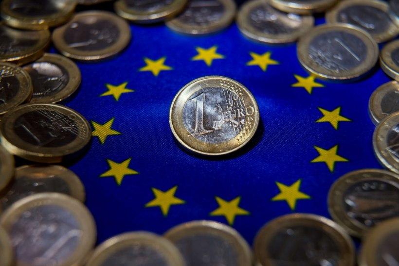 Euro odavnemine kestab endise hooga