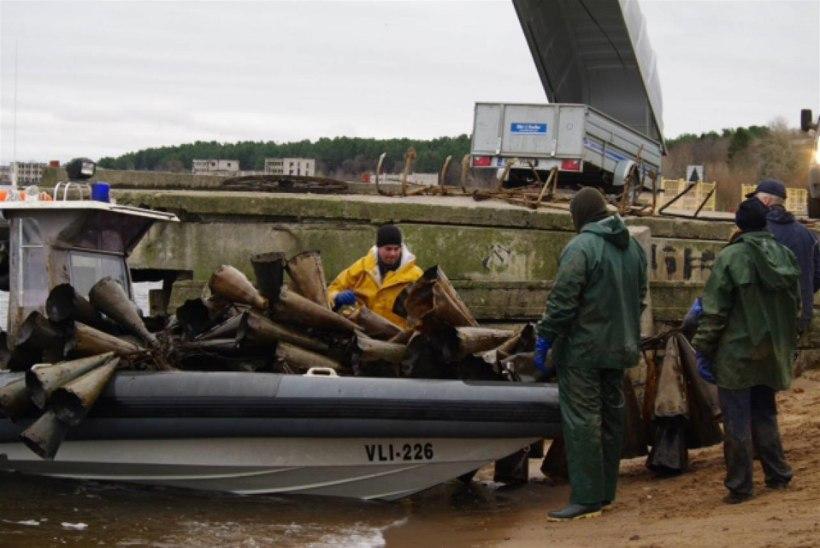 Inspektorid avastasid Narva jõel hulga ebaseaduslikke püüniseid