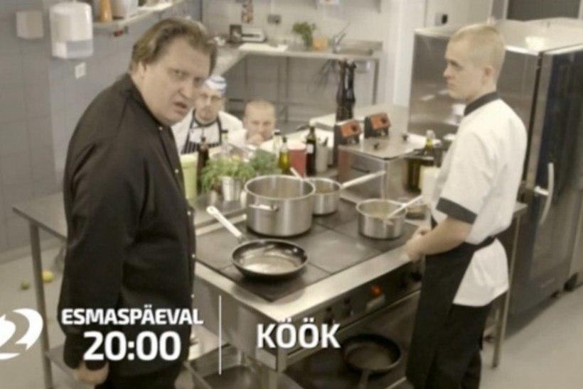 """""""KÖÖK"""": köögikaamera, konkurendid, kirepalang ja tulelõõm"""