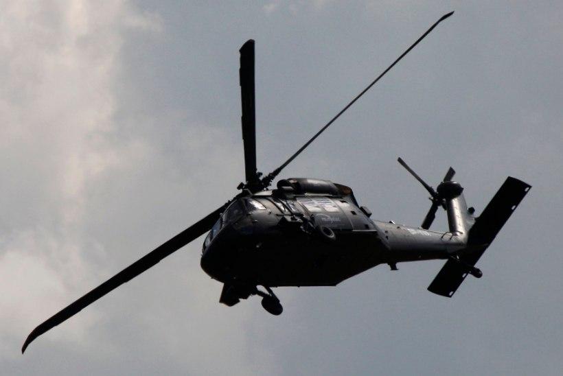 USAs kukkus alla sõjaväe helikopter