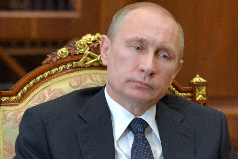 VENE TELEKANAL: Putin põeb grippi