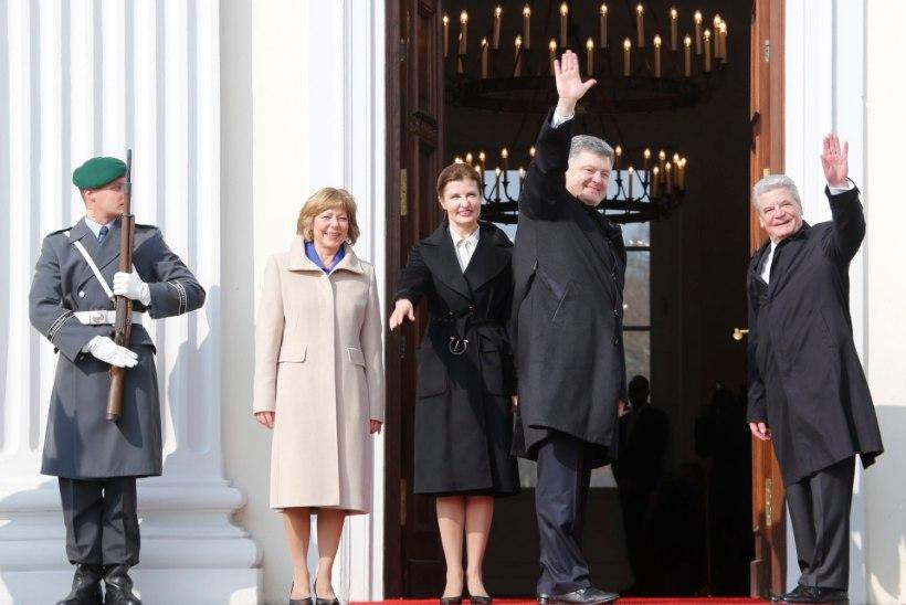 Porošenko: Putini Venemaa ei tunnista enam punast joont