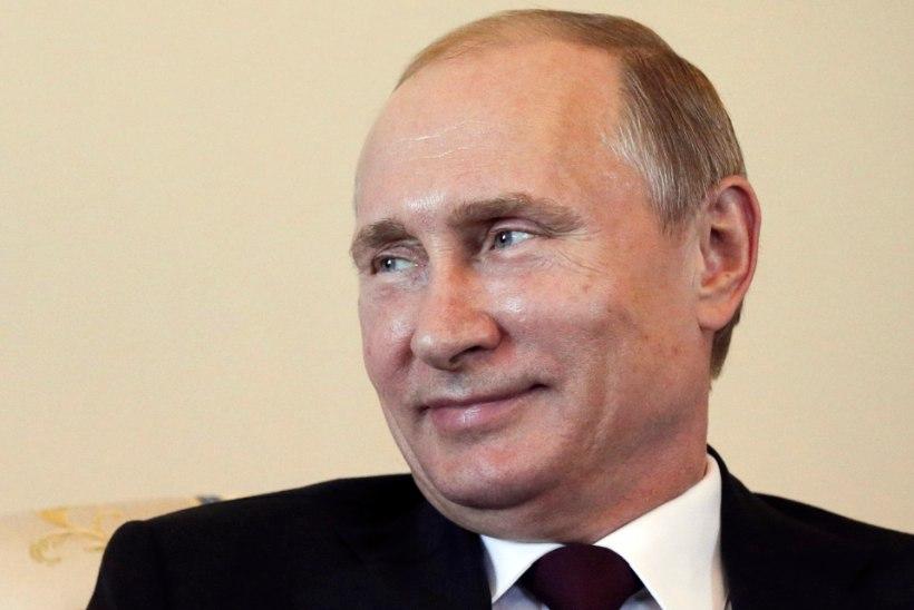 VIDEO: Kas Putini-jaht saab nüüd lõpu? Venemaa president ilmus ajakirjanike ette