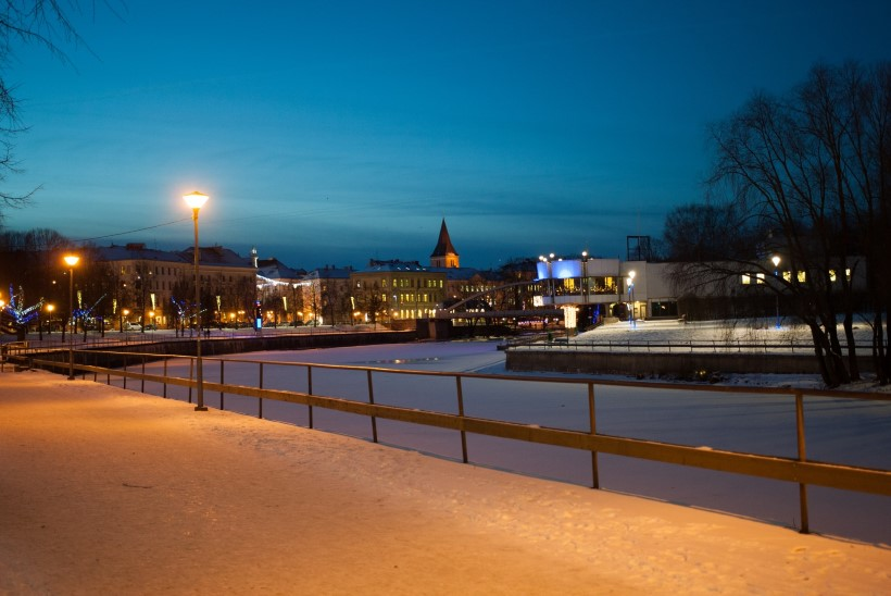Tartu linn kavandab Emajõkke purskkaevu
