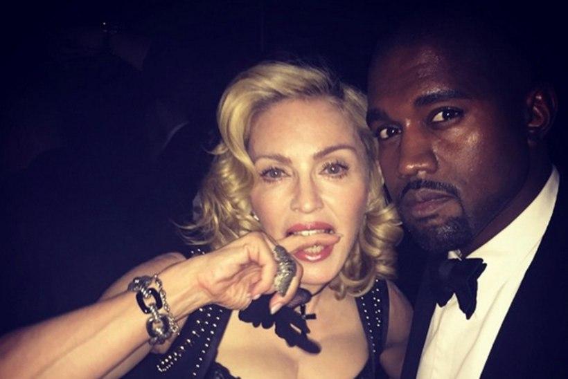 Madonna teeb koostööd Kanye Westiga