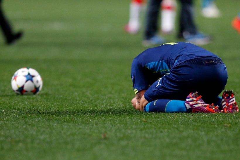 Arsenali oodatud ahastus