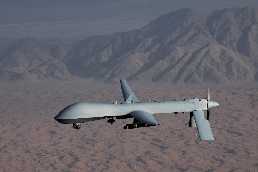 Süüria valitsusväed  tulistasid alla USA drooni