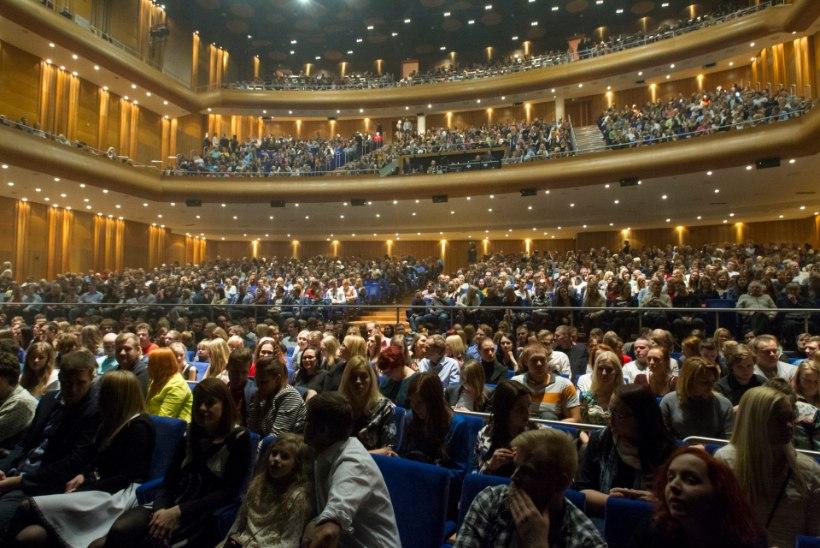 GALERII: ansambli Ewert and The Two Dragons plaadiesitluskontsert Nordea kontserdimajas