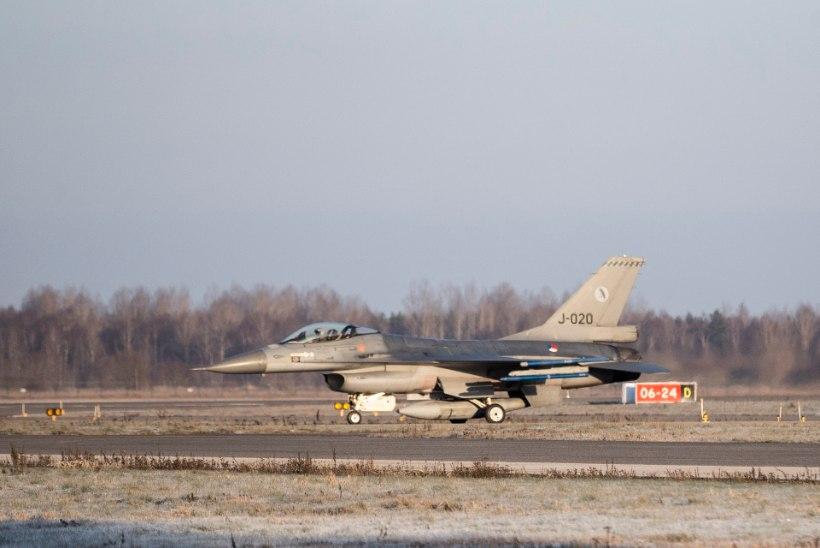 Eesti ja USA alustavad suure lennuväeõppusega