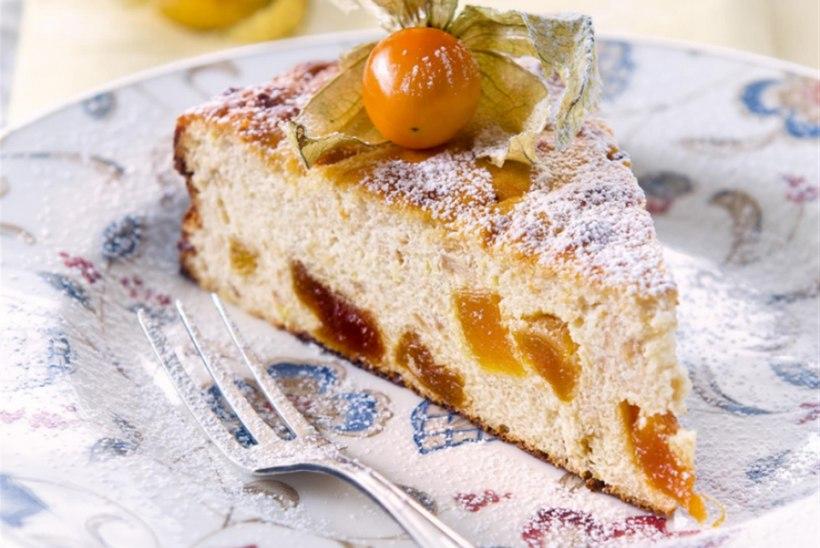 Saleneja õuna-aprikoosikohupiimakook
