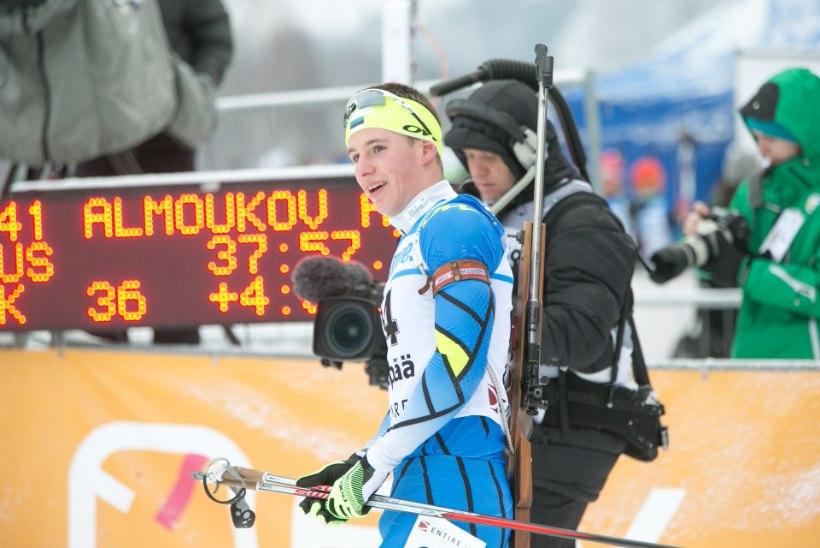 Ühisstardiga sõidus tulid Eesti meistriks Ermits ja Talihärm