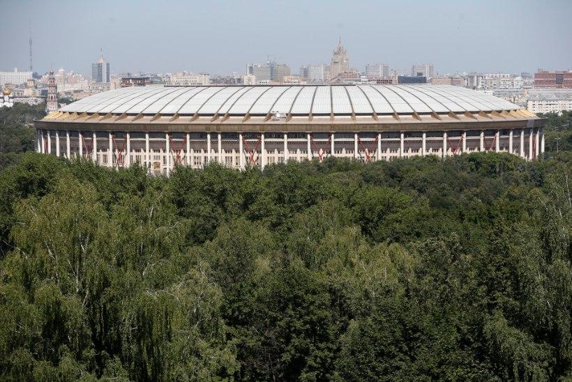 2018.a jalgpalli MMi finaal mängitakse Lužniki staadionil