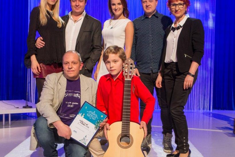 """GALERII: tänavuse """"Laulukarusselli"""" võitis Märten Männiste"""