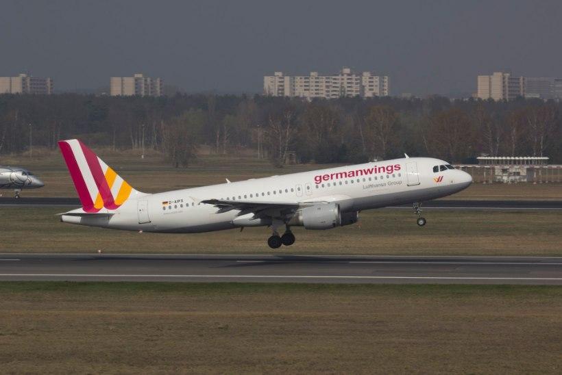 Prantsusmaa lõunaosas kukkus alla reisilennuk Airbus