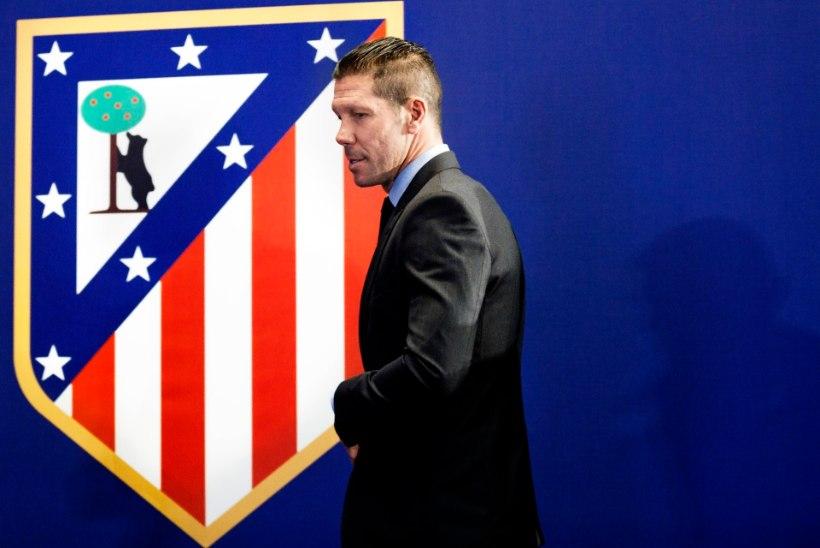 Manchester City võib Diego Simeonest suu puhtaks pühkida
