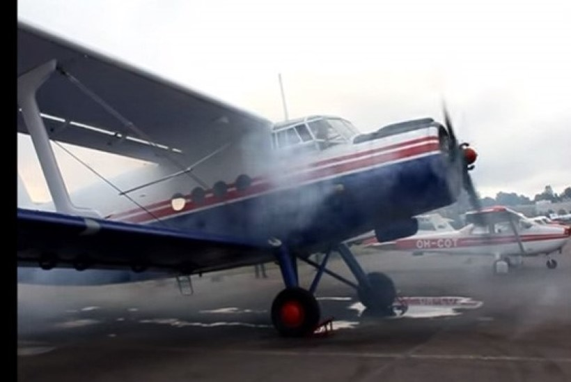 Ukrainas kukkus alla lennuk Valgevene salasigarettidega