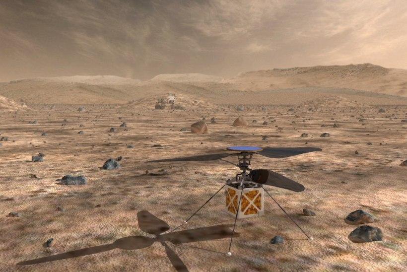 MAALT VÄLJA: uued kosmosesõidukid aitavad uurida ja elada karmides tingimustes