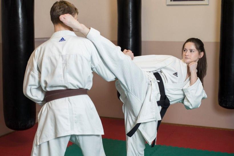 Li Lirisman – karates EM-pronks, koolis puhas viieline õpilane!