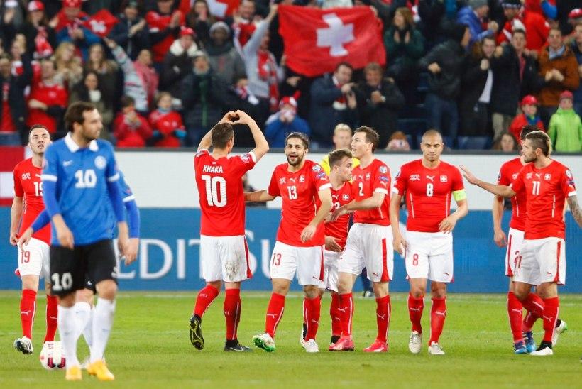 NII SEE JUHTUS: Eesti sai Šveitsilt kindla kaotuse