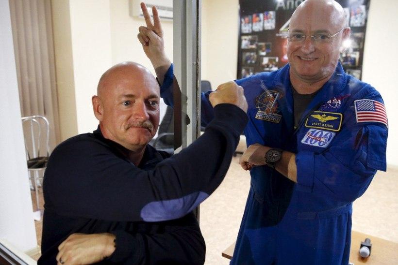 Astronaut Kelly ja kosmonaut Padalka püstitavad kosmosejaamas rekordeid