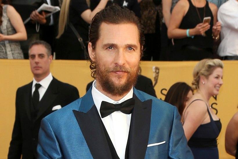 McConaughey palk on saladus