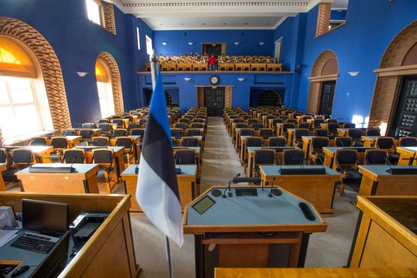TÄNA: uus riigikogu koosseis koguneb avaistungile