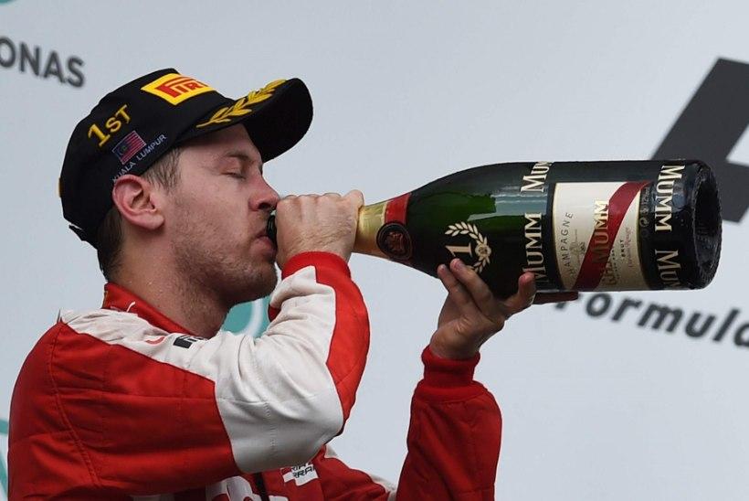 Vettel: tahan end purju juua!