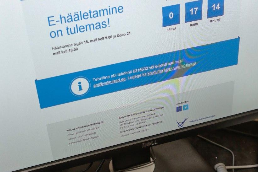 Ainuke e-hääle rikkuja: Eestis ei julgeta e-hääletamist kritiseerida