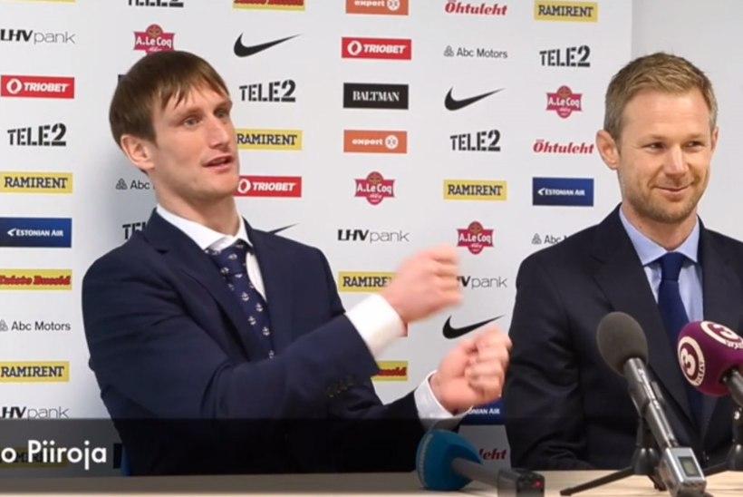 Eesti meeskond saadab Raio Piiroja erru laulu, ovatsioonide ja tohutu lugupidamisega