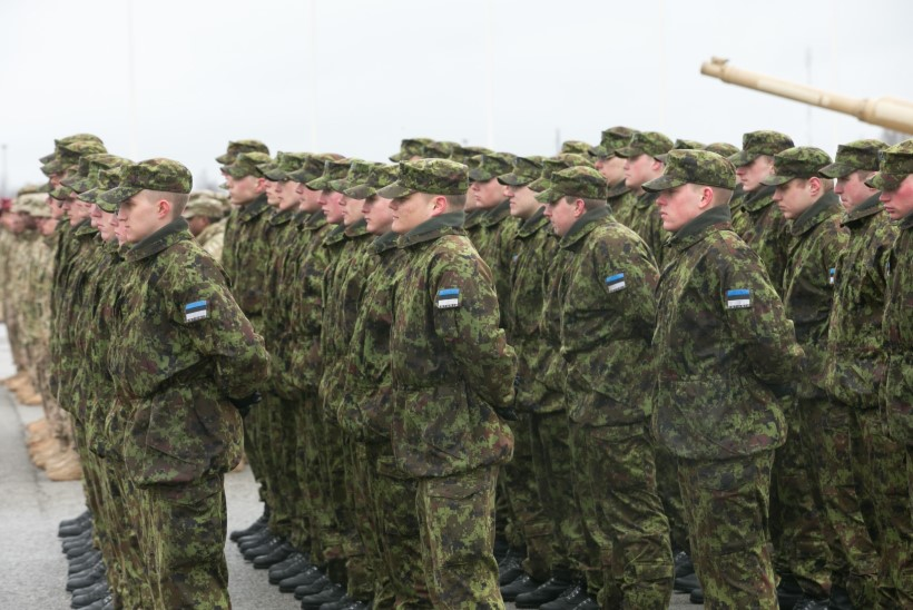 GALERII JA VIDEO: USA tankiüksus alustas Tapal teenistust