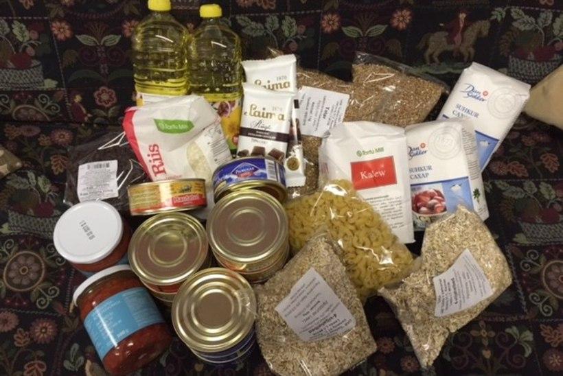20 000 Eesti inimest saab 15kilose Euroopa toiduabipaki