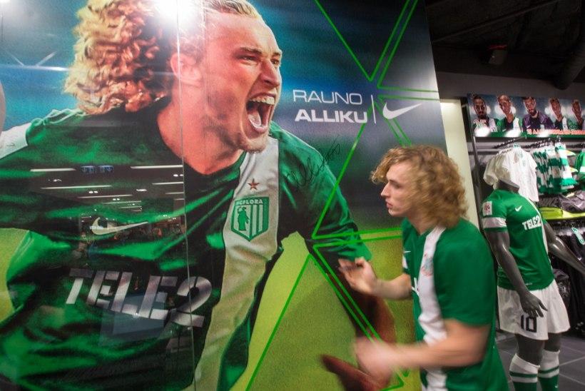GALERII: FC Flora tutvustas Kristiine Keskuses uue hooaja plaane