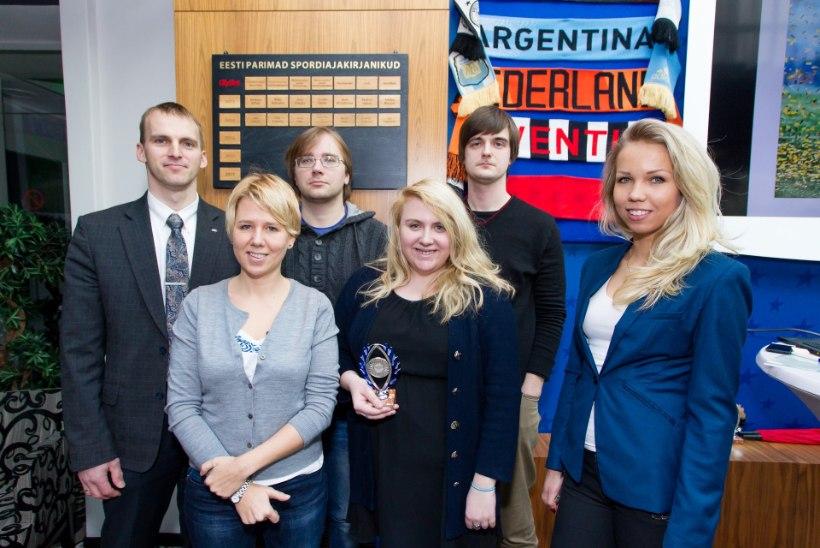 Õhtulehe ajakirjanik Merili Luuk kirjutas 2014. aasta Eesti parima spordikommentaari
