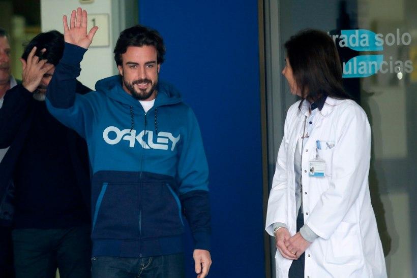 Fernando Alonso sai autolt 600-vatise elektrilöögi?
