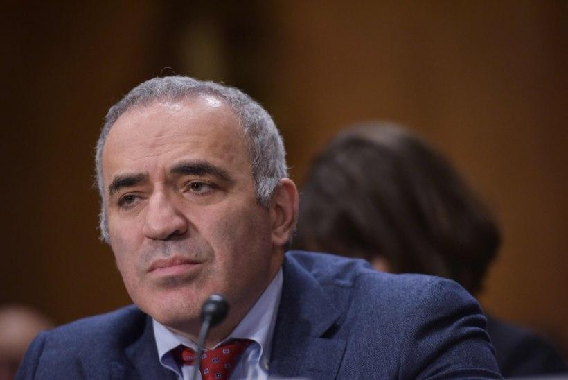 Kasparov peab Putinit vähkkasvajaks