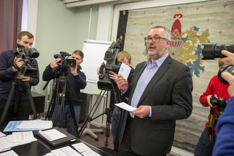 GALERII: Tallinnas kehtetuks tunnistatud sedelid - kuidas neid rikuti?