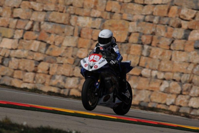 VIDEO JA FOTOD: Anastassia Kovalenko lõpetas esimesed testisõidud Aragonis