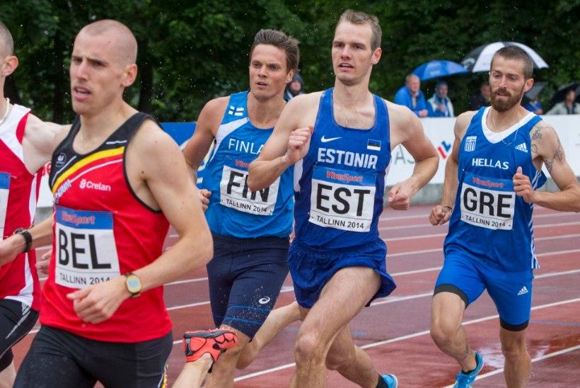 ÕHTULEHE VIDEO   Prahas isikliku rekordi püstitanud Raimond Valler: Jooksin julgelt!
