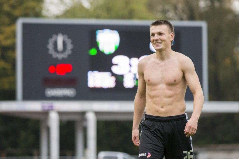 Pareiko, Kruglov, Lindpere, Jääger ja Piiroja kõik Eesti jalgpalliliigas!