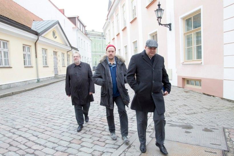 GALERII: Stenbocki majas arutatakse nelikliidu loomist