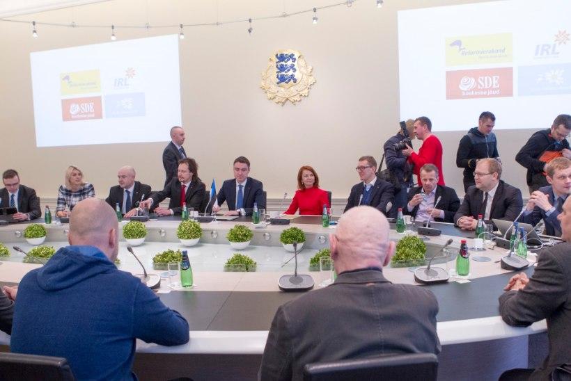 Mida kujutavad endast koalitsiooniläbirääkimised?