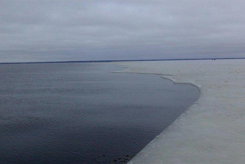 Laupäevast kehtib Pärnu lahel jäälemineku keeld