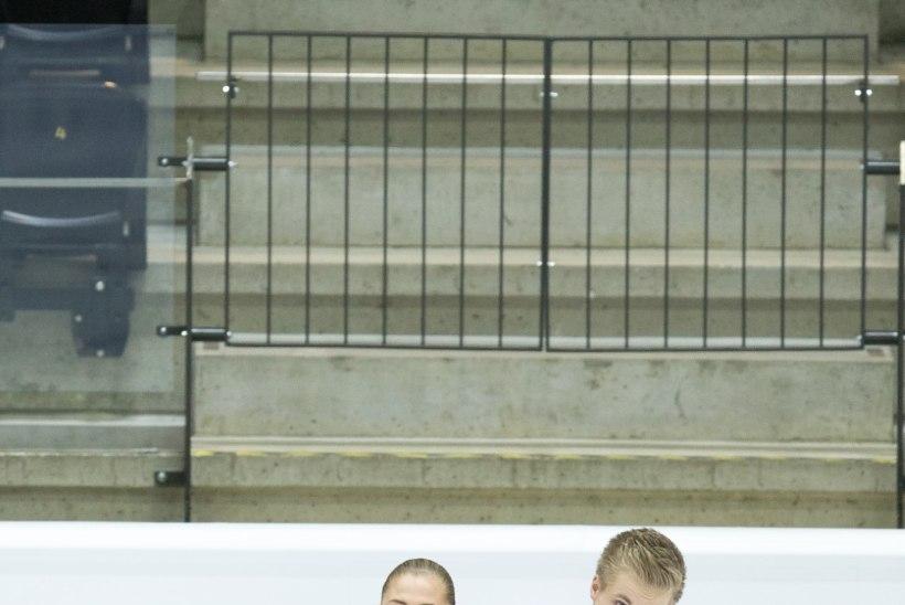 GALERII: Eesti võluv jäätantsupaar sai kodusel MMil 20. koha