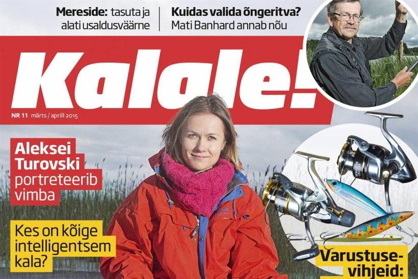 Ilmunud on ajakirja Kalale! märtsinumber!