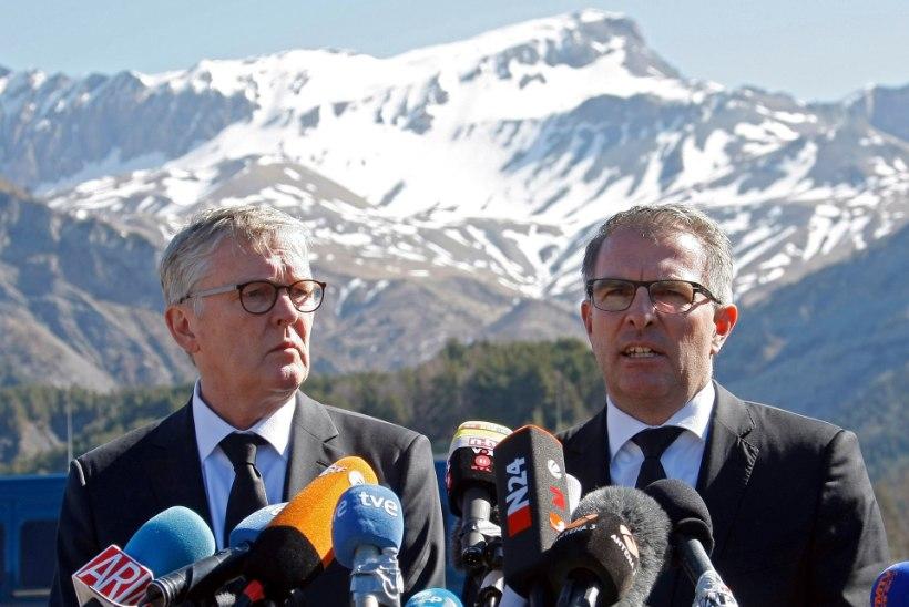 Lufthansa juht: lennukiõnnetuse uurimine võtab aega
