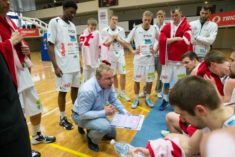 Aivar Kuusmaa pärast kaotust Valgale: play-offi närv oli sees