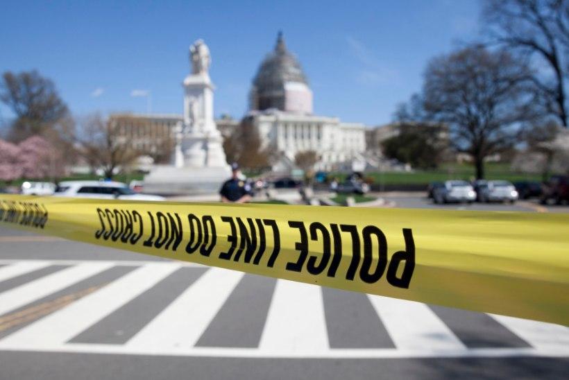 Washingtonis Kapitooliumi hoone juures tulistati